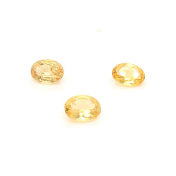 7x5mm Oval Faceted Heliodor