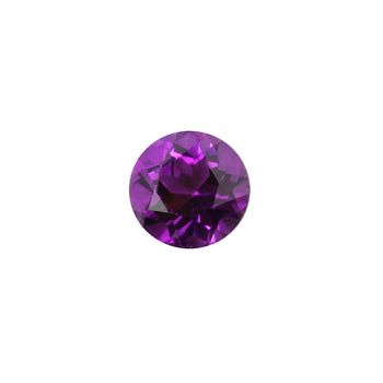8mm Round Faceted Amethyst