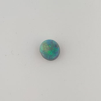 1.12ct Round Cabochon Opal 7.5mm