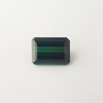 9.76ct Octagon Cut Green Tourmaline 12mm
