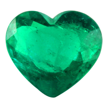 1.27ct Heart Shape Emerald 8mm
