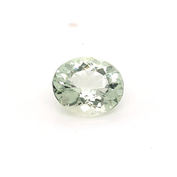 4.06ct Oval Faceted Beryl 12.2x10.3mm