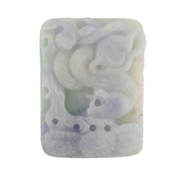 54.06ct Rectangular Jade Carving 42x22mm