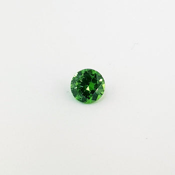 1.14ct Round Faceted Demantoid Garnet 6.2mm