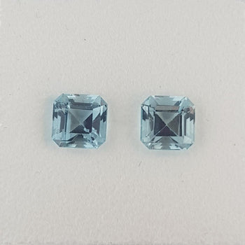 1.60ct Octagon Cut Aquamarine 5.3mm