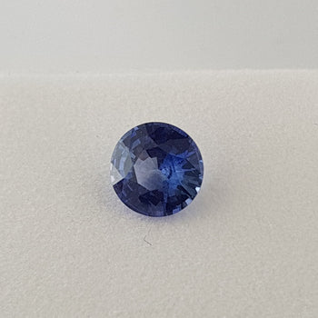 2.16ct Round Faceted Sapphire 7.8mm