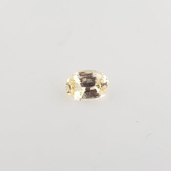 1.89ct Oval Faceted Yellow Sapphire 8.3x6mm