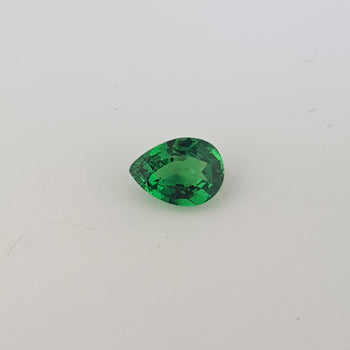 1.16ct Pear Shape Tsavorite Garnet 8x5.9mm