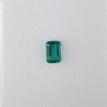 0.74ct Octagon Cut Emerald 6.1x4.1mm