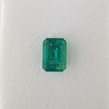 2.19ct Octagon Cut Emerald 9.3x6.7mm