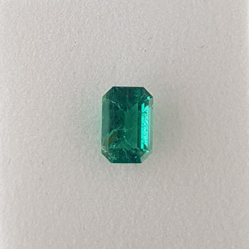 1.60ct Octagon Cut Emerald 8.7x5.8mm