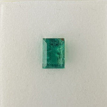 1.99ct Rectangular Cut Emerald 8.7x6.4mm