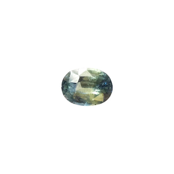 1.34ct Oval Faceted Bi-Colour Sapphire 7.5x5.4mm