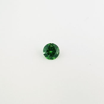 0.80ct Round Faceted Demantoid Garnet 5.7mm