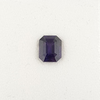 1.18ct Octagon Cut Purple Sapphire 6.3x5.3mm