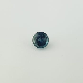 1.88ct Round Faceted Bi-Colour Sapphire 6.9mm