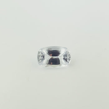 3.67ct Cushion Cut Pale Blue Sapphire 11x7.2mm