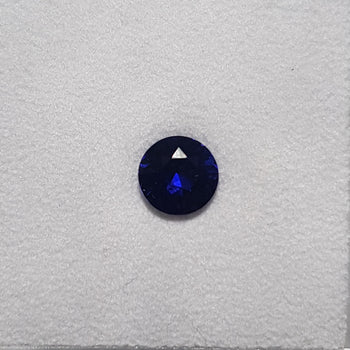 0.73ct Round Faceted Sapphire 5.5mm