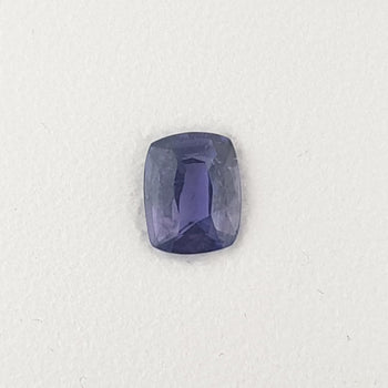 1.20ct Cushion Cut Mauve Faceted Sapphire 6.8x5.3mm