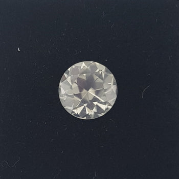 2.38ct Round Faceted White Zircon 7.5mm