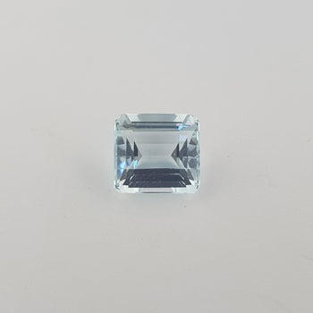 2.71ct Octagon Cut Aquamarine 8.4x7.8mm