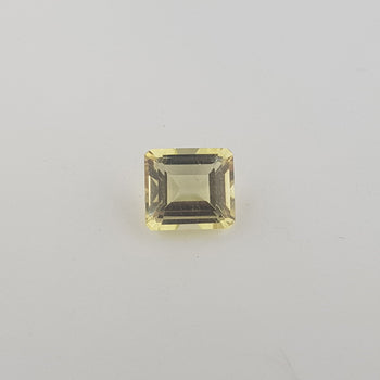 2.63ct Octagon Cut Heliodor 8.6x7.8mm