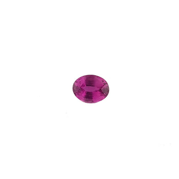 1.15ct Oval Faceted Pink Sapphire 6.8x5.2mm