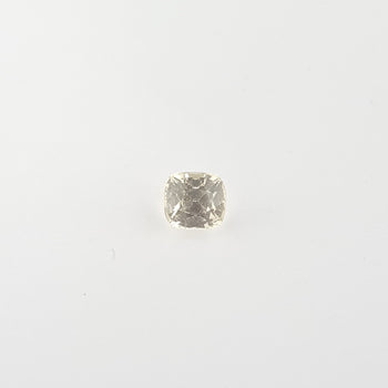 1.05ct Cushion Cut Yellow Sapphire 5.1x4.7mm