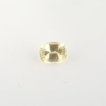 1.46ct Cushion Cut Yellow Sapphire 7.0x5.5mm