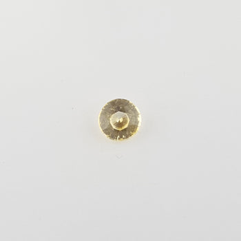 0.68ct Round Faceted Yellow Sapphire 5.3mm