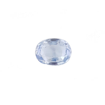 3.35ct Oval Faceted Yellow Sapphire 9.7x7.3mm