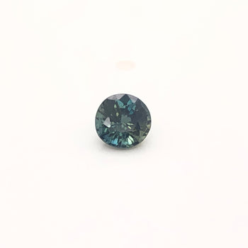 0.65ct Round Faceted Bi-Colour Sapphire 5.0x3.4mm