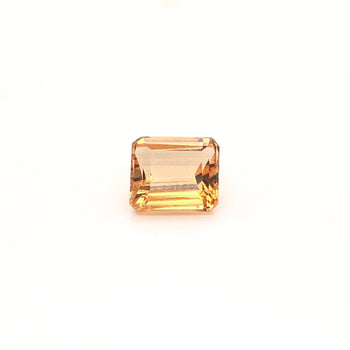 1.62ct Octagon Cut Golden Topaz  6.9x6.1mm