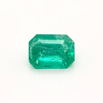 1.50ct Octagon Cut Emerald 7.8x5.9mm
