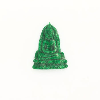 9.02ct Jadeite Buddah Carving 23x17.5mm