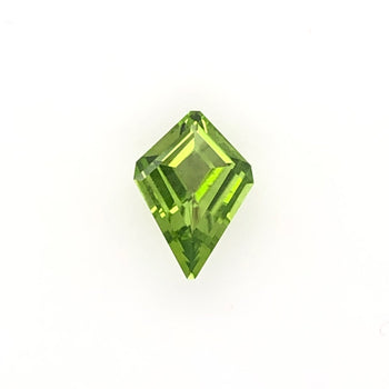 3.26ct Kite Cut Peridot 14.3x10.1mm