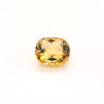 8.53ct Cushion Cut Citrine 14.3x12.5mm