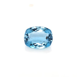 2.94ct Cushion Cut Aquamarine 10.6x8.3mm