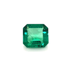 1.00ct Octagon Cut Emerald 6.7x6.3mm