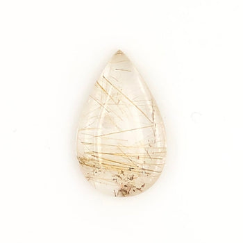 12.10ct Pear Shape Rutilated Quartz 22.6x13.9mm