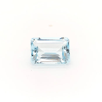 6.94ct Octagon Cut Aquamarine 14.0x9.9mm