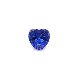 2.05ct Heart Shape Tanzanite 8.0x7.9mm