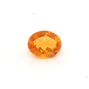 1.78ct Oval Faceted Fire Opal 10x8mm