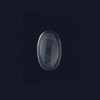 7.15ct Oval Cabochon Blue Moonstone Doublet 15x9mm