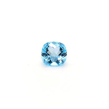 4.52ct Cushion Checkerboard Cut Sky Blue Topaz 10mm