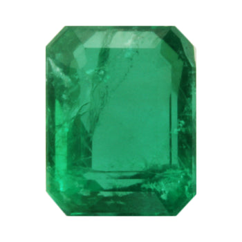 2.17ct Octagon Cut Emerald