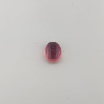 3.54ct Oval Cabochon Tourmaline 9.8x7.8mm