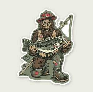 Bassquatch Decal