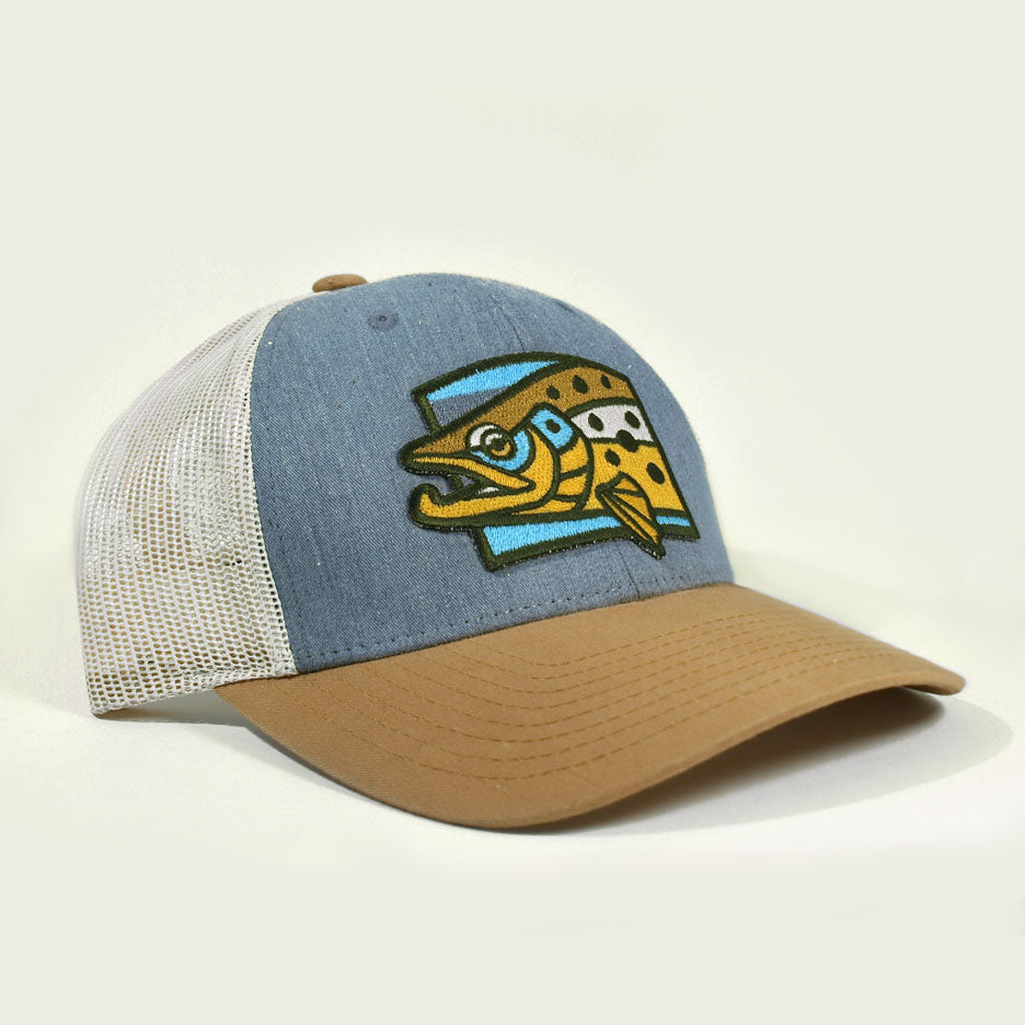 Brown Trout Mesh Back Hat