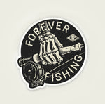 Forever Fishing Reel Decal